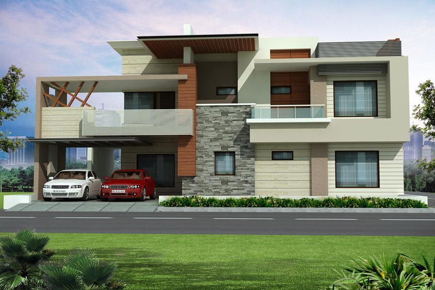 Front Elevation In Ludhiana : Ridden interior architect desinger valuer